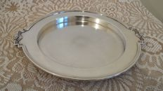 James dixon & son silver plated tray rare made in england.
