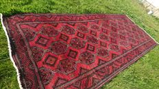 Magnificent handwoven Persian Gochan rug - 400/162 cm - PERFECT CONDITION - VERY INTERESTING RESERVE PRICE
