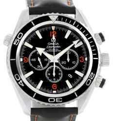 Omega Seamaster Planet Ocean Chronograph Ref.  2910.51.82 Co-Axial - Diver Men´s Watch -   New With Tags - 2017