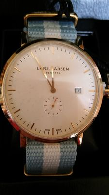 Lars Larsen unisex watch, type Sebastian, 131SWCN Swiss movement, Danish design. 2017