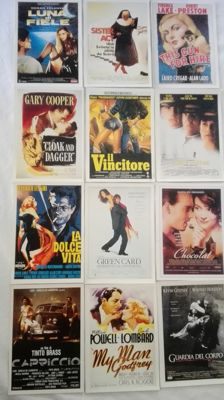 Lot of 75 mini international movie clips : Sister Act, Harry Potter , Apocalypse and more