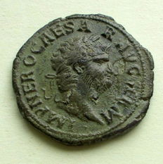Roman Empire – Nero (54-68) A.D. AE As
