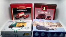 Corgi - Scale 1/43 - Lot with 7 models: British Railways, Whitbread, NNPCC & Morris Minor vans