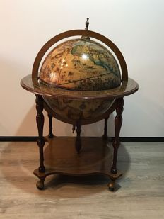 Price of furniture with a globe