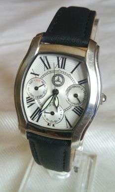 Mercedes-Benz Classic - Quartz watch with black leather band - 1996