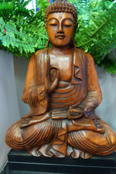 Wooden Buddha – Indonesia – early 21st century