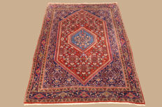 Handwoven Persian carpet Bidjar approx. 158 x 108cm