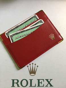 ROLEX CARD and CASH holder
