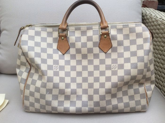 443c7b11c13 Louis Vuitton – Speedy 35 Damier Azur - Catawiki