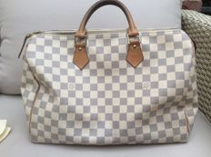 Louis Vuitton – Speedy 35 Damier Azur