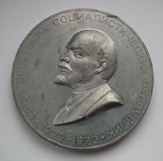Russia/USSR - Medal 1972 50 Years of USSR