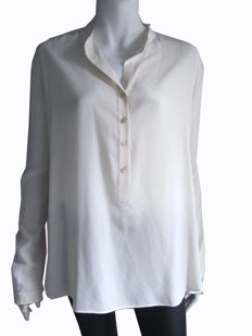 Stella McCartney – pure silk oversized blouse