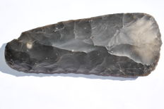 Neolithic flint axe - 210 mm