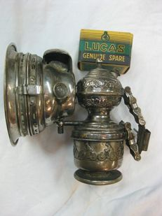 Rare German Carbide Lamp