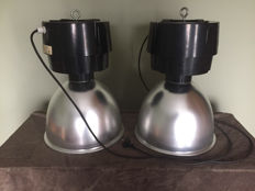 Unknown designer - industrial lamps (2 x).
