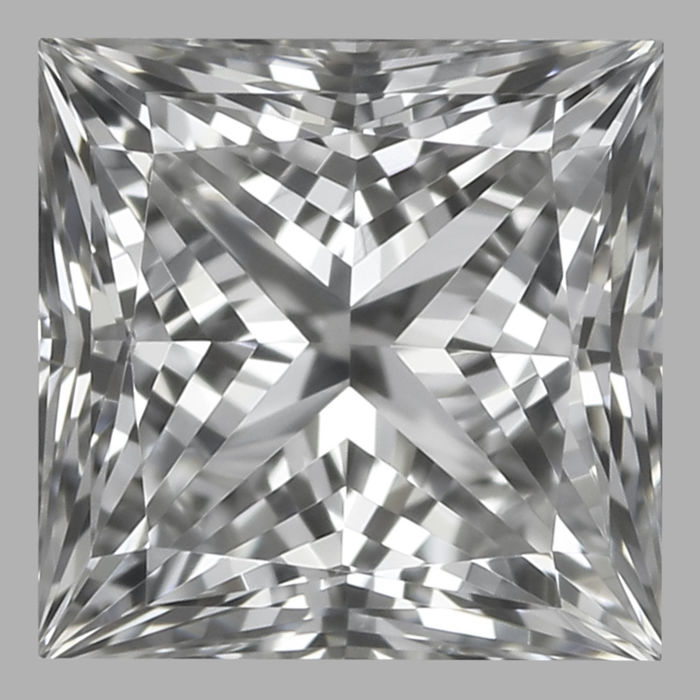 0.40ct  Princess Brilliant  E VS1  GIA - Low Reserve Price - #1756