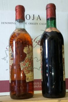 1925 Grand Reserve Special Castillo de Ygay Red & 1946 Grand Reserve Special Castillo de Ygay White - 2 bottle