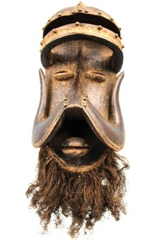 Spectacular African Mask - Kran - Ivory Coast