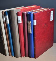 Germany - Batch in various stock books