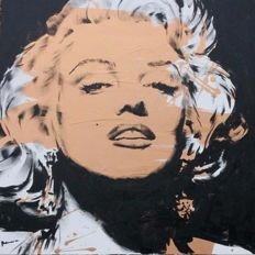 Bamu - At the end of the line /  MARILYN MONROE