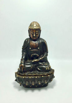 Bronze Buddha Shakyamuni - China - early 20th century
