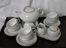 Tea set Winterling Schwarzenbach Bavaria for Douwe Egberts