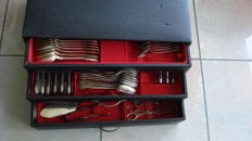 Set of 90 utensils -Solingen? - Silver 100- Germany - 1948-1956