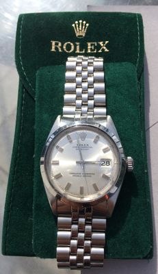 Rolex Oyster Perpetual Datejust Ref. 1600 – Men's – 1967/68.
