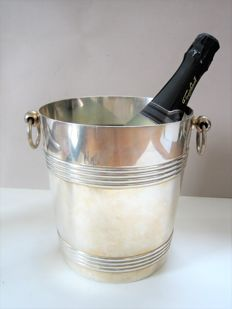 Christofle Gallia - silver plated champagne cooler - Paris around 1950
