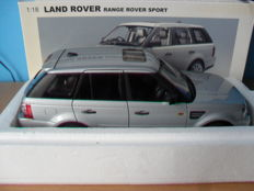 AUTart - Scale 1/18 - Land Rover Range Rover Sport - Silver
