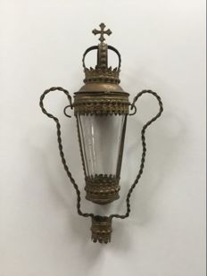 Old procession lamp