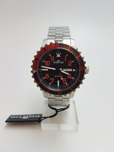 Fortis Aquatis Marinemaster Day/Date Rot 670.23.43 M