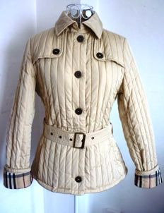 Burberry-Beige jacket with belt