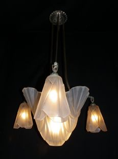 Degué -  Art Deco suspension lamp