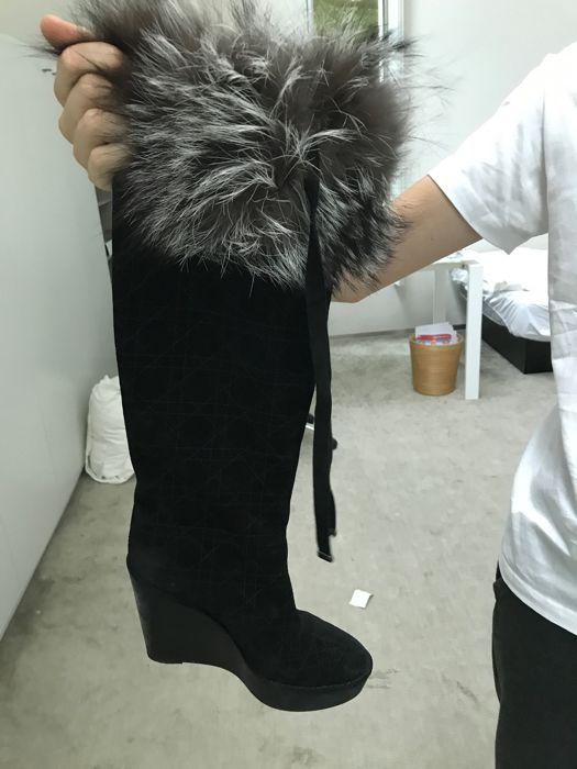 Christian Dior – Knee-length boots