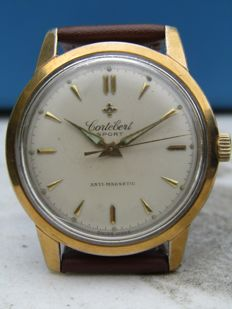 Cortebert men's wristwatch, 1950s