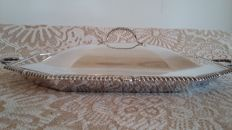 Samuel h hayne c1900 exceptional luxury antique serving meat platter tureen made in england.
