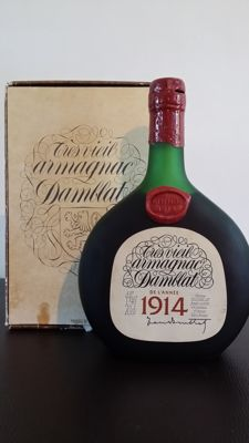 Very old Armagnac Damblat - Vintage 1914 -  1 bottle