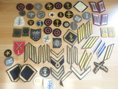Emblems from ww2 and postwar from various countries