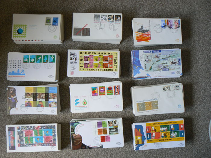 Netherlands 1967/2005 - Box with approx. 1200 FDCs.