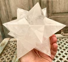 Large and unusual dodecahedron Quartz star - 20cm - 2840gm