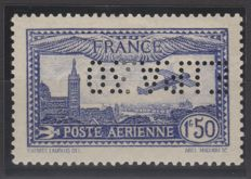 France 1930 - Yvert 6c - E.I.P.A.30 inverted expertised Brun