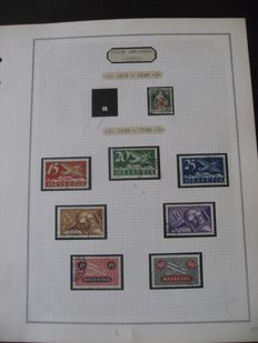 Swizterland 1930/1965 - Collection of airmail stamps