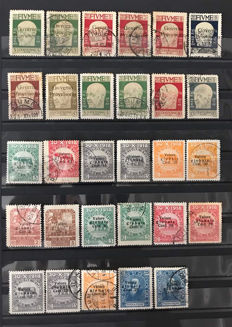 Italy - Fiume - Selection of stamps