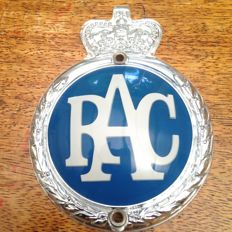 1965 'Elizabethan' RAC Badge In near perfect condition!