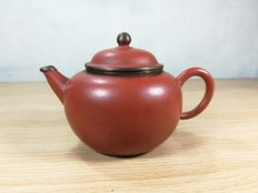 Chinese Yixing clay Teapot - China - late 20th century