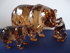 Swarovski - Annual Edition Bear Arcadia with two Cubs.