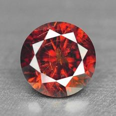 Orange Red Diamond – 0.305 ct - No Reserve Price