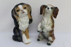 Gama and Cluj - Dogs of porcelain