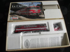 Roco H0 - 43563 - Electric locomotive Series BB9200 in Le Capitole execution, Museum Edition.